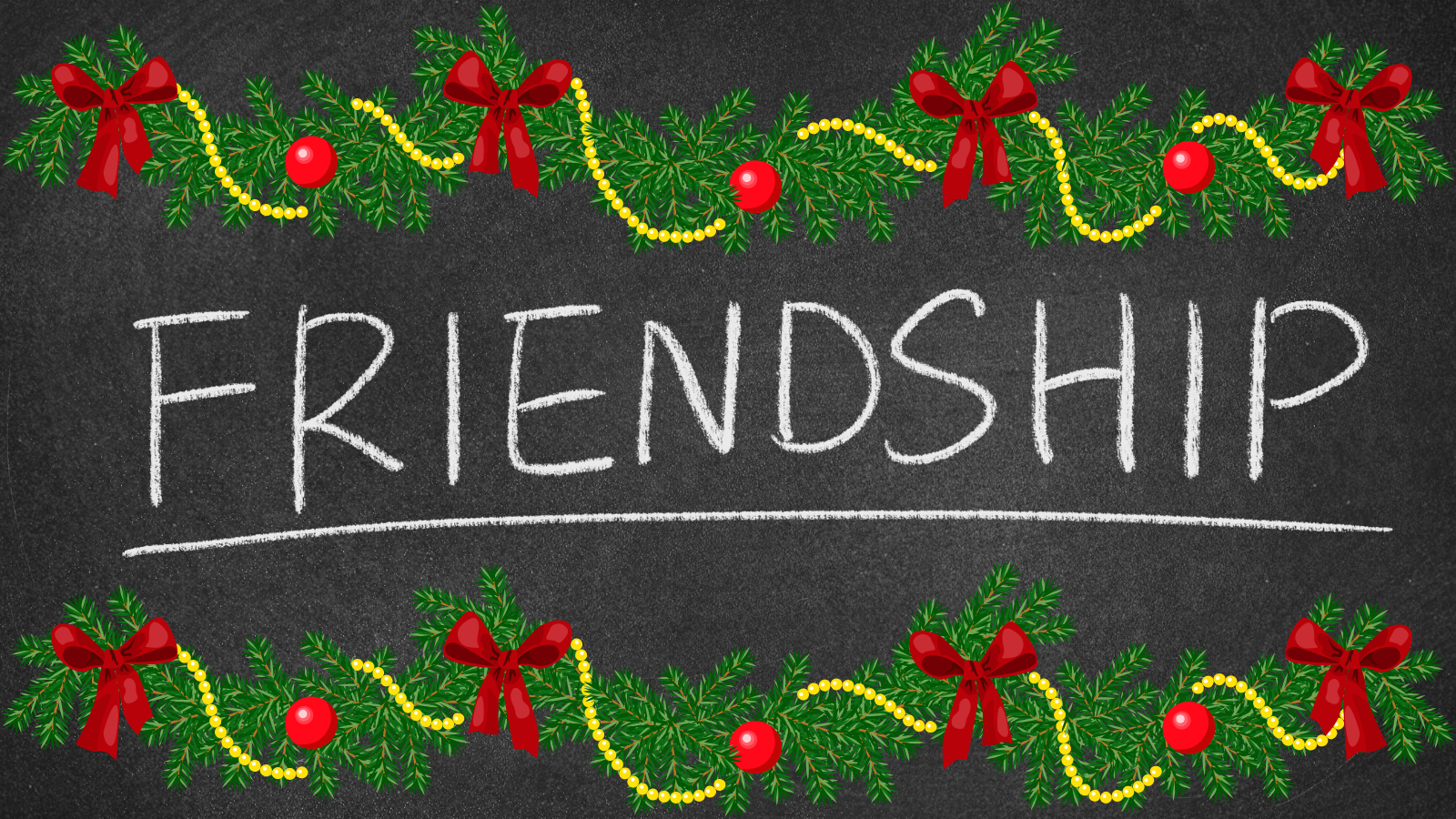 A Christmas Friendship Reflection