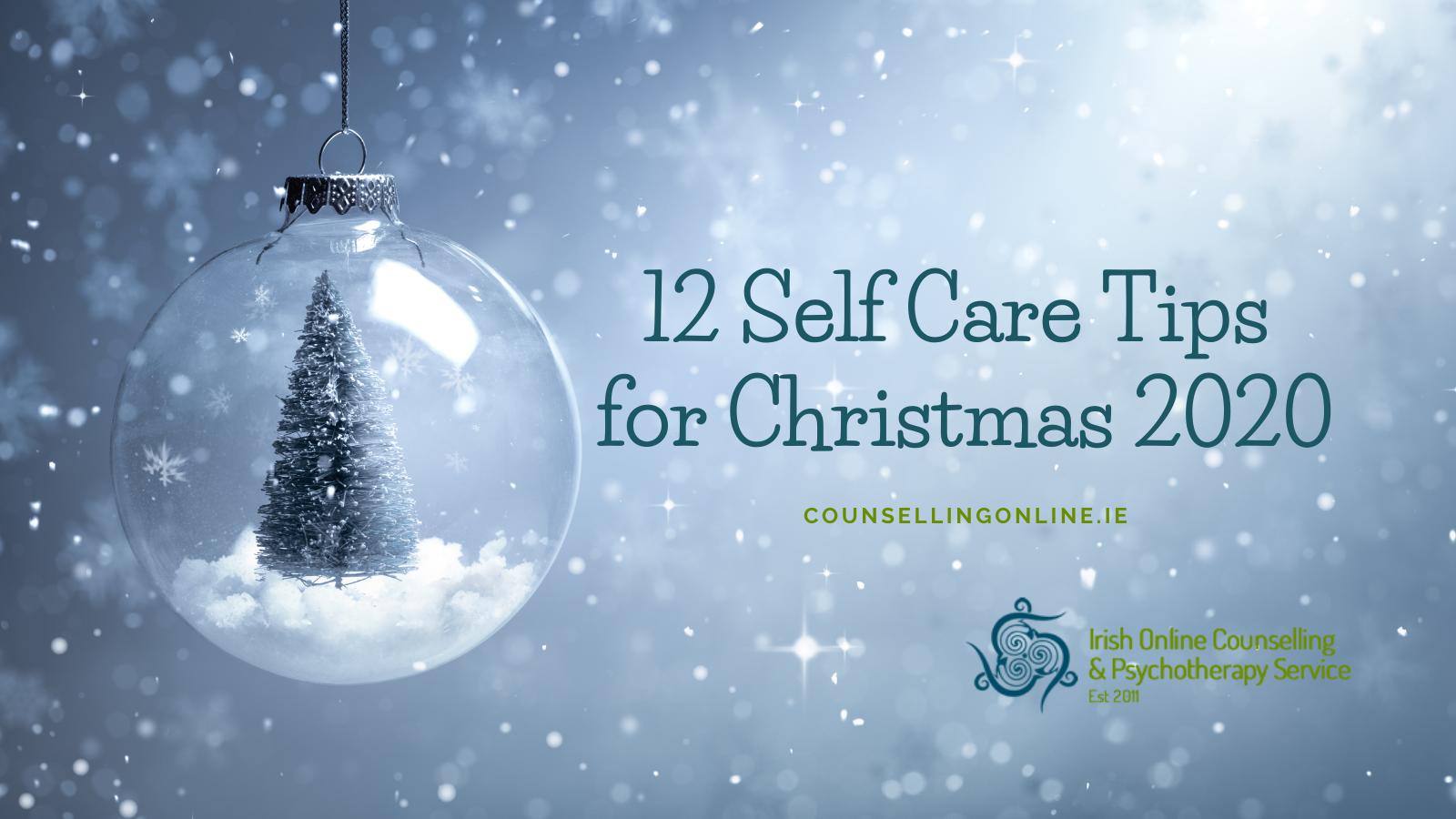 Christmas Self Care 2020